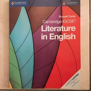 English Literature Cambridge IGCSE O Level Textbook Book