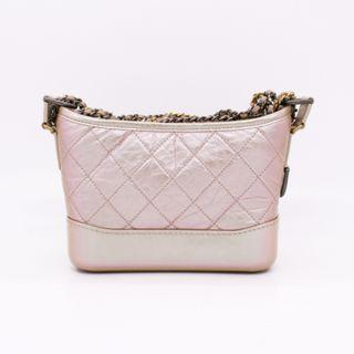 (NEW) CHANEL A91810 B00395 SMALL GABRIELLE BAG WITH ANTIQUE AND BRASS CHAIN LAMBSKIN SMALL SHOULDER BAGS