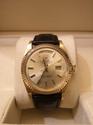 Rolex Day-Date President 1803 Full Gold 36mm Automatic