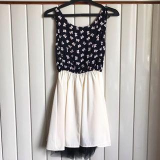 Ribbon BW Dress