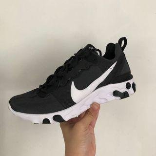 Nike react element 55 黑白 Air Force adidas new balance