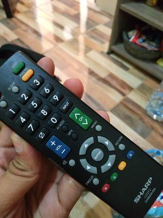 Remot TV sharp asli