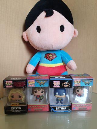Dc characters superman batman wonderwomN