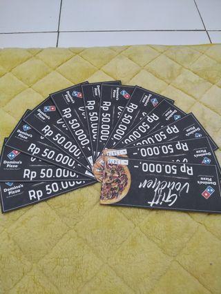 Voucher Domino 500rb