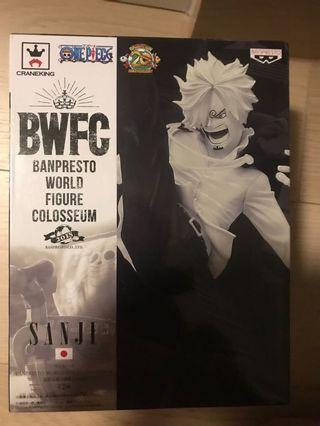 全新日版 banpresto one piece 海賊王 山治 灰色版