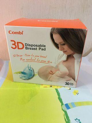 包郵-全新Combi 3D乳墊(15對獨立包裝)