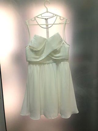 Authentic Love Bonito white dinner / party dress