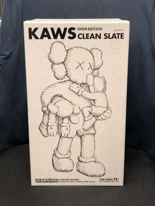 Kaws Clean Slate Grey