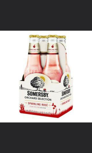 Somersby Orchard Sparkling Rose set of 16 Beer Cider