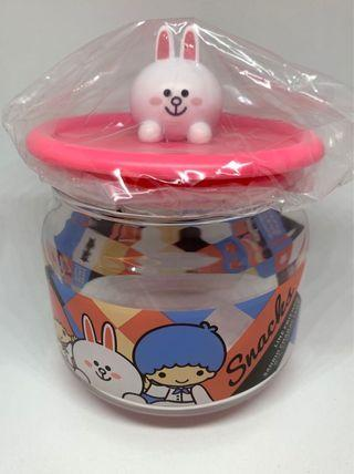 7-11 Sanrio x Line - Little Twin Star x Cony jar