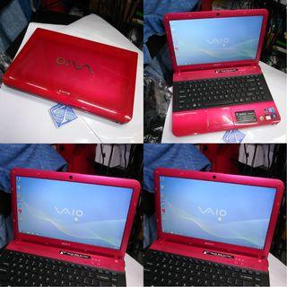 Sony VAIO E i3 320GB 4GB 14 Inch Laptop Notebook $265
