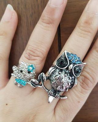Cincin hello kitty / owl
