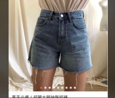 正韓 nitenite 超藏大腿抽鬚短褲 m號