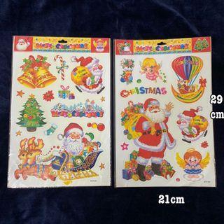 聖誕節 聖誕老公公 貼紙