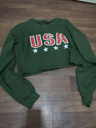 🚚 WARDROBE CLEARANCE Cropped Sweatshirts/ Pullovers