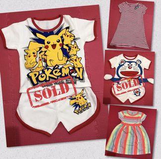 Setelan/Dress Anak 1-3T