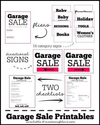 Garage Sales Sunday discount up to 30% on all items