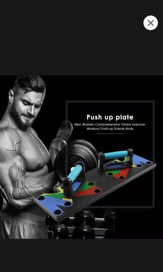 🚚 Push Up Plate