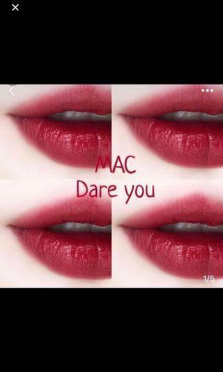 Mac dare you