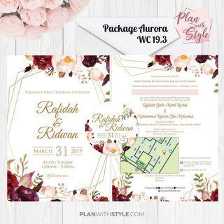 Wedding Package Aurora WC19.3