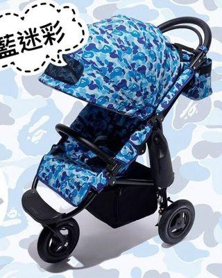 2018 BAPE x AIRBUGGY ABC CAMO 聯名限定嬰兒推車