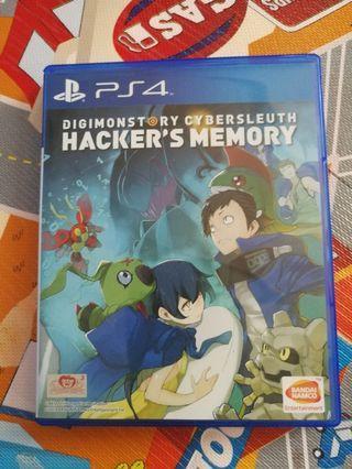 Ps4 Digimon Cybersleuth Hacker's Memory