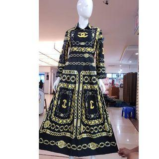Dress premium Bangkok size s m l XL XXL