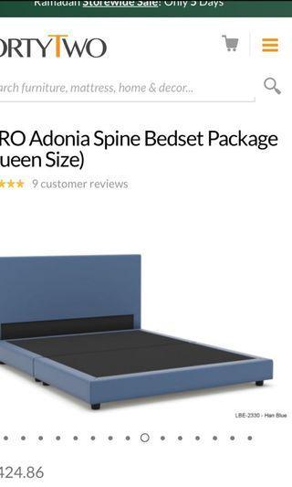 🚚 Viro adonia frame plus mattress