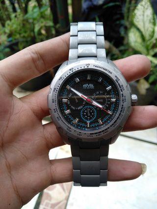 Jam tangan revel titanium original