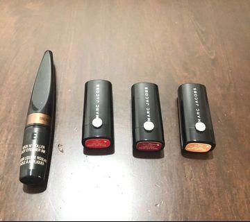 Marc Jacobs Lipstick ( mini ) Bundle with freebies **