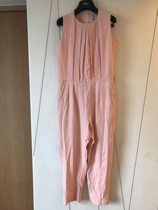 🚚 粉色連身褲