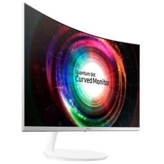 "Samsung 31.5"" QLED Curved Monitor CH711 with WQHD resolution"