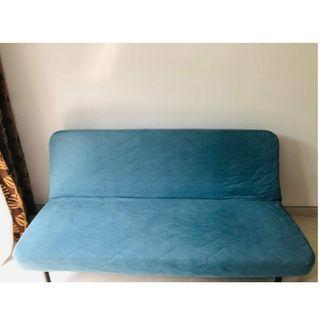 Double Sofa bed: 140x200. Whatsapp if interested