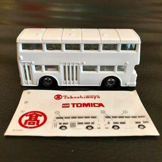 Tomy Tomica London Bus Takashimaya 25th Anniversary