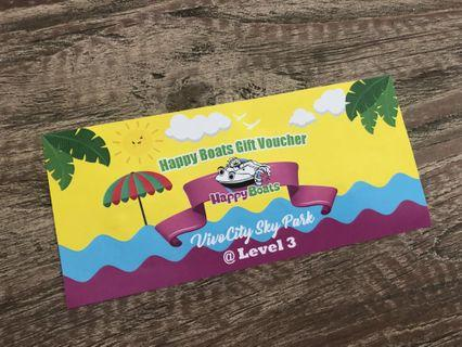 🚚 #giveaways Happy Boats Ride VivoCity Sky Park