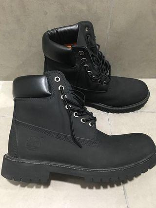 Timberland Water Proof Black Boots