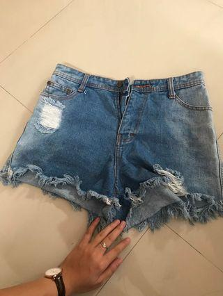 Hotpants denim