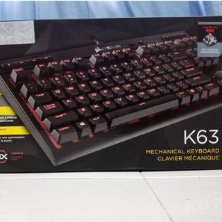 Corsair K63 Ten-keyless Mechinical Keyboard