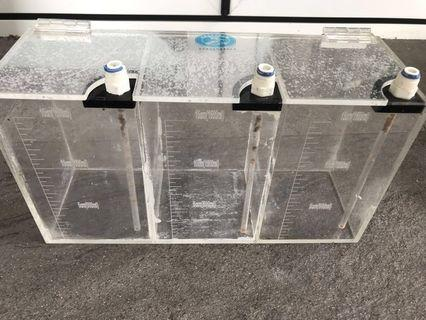🚚 Reeftech Acrylic dosing container with measurements