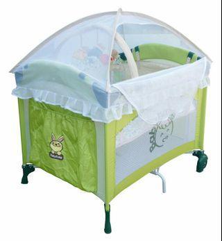 全新baby babe全配雙層遊戲床