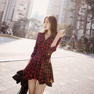 🚚 【全新】格子洋裝