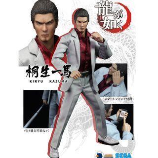PO: Asmus Toys Ultimate 8 Yakuza Series: Kiryu Kazuma 8'' Collectible Figure