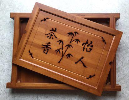 Chinese tea tray
