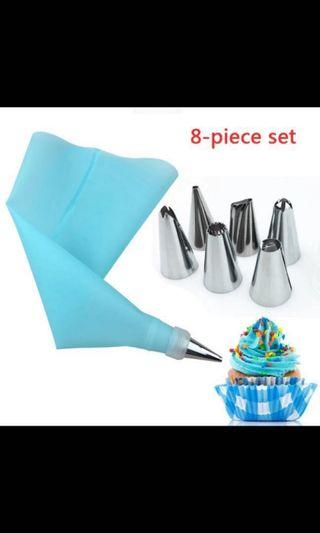 Pastry Icing And Cream Pastry Bag!