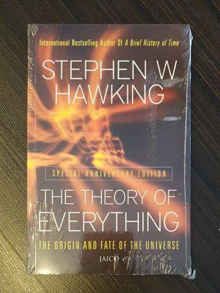 010. The Theory of Everything : The Origin and Fate of the Universe, By Stephen Hawking