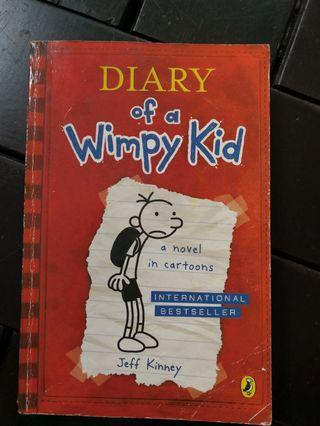 🚚 Diary Of A Wimpy Kid: the original book