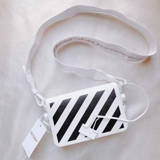 【全新六折❗️】Off-White mini 斜蚊 clip bag