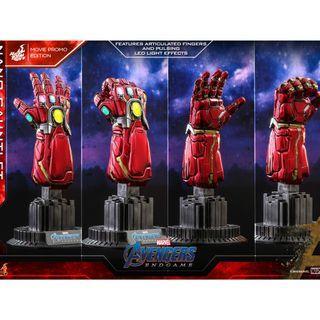 PO: Hot Toys - ACS008 - Avengers: Endgame - 1/4th scale Nano Gauntlet (Movie Promo Edition) Collectible