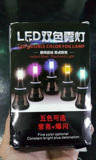 H8/H9/H11 LED white/yellow (JUST WANT TO CLEAR)