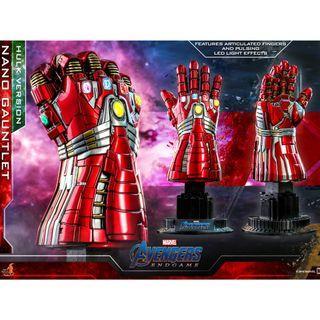 PO:  Hot Toys – ACS009 - Avengers: Endgame - 1/4th scale Nano Gauntlet (Hulk Version) Collectible
